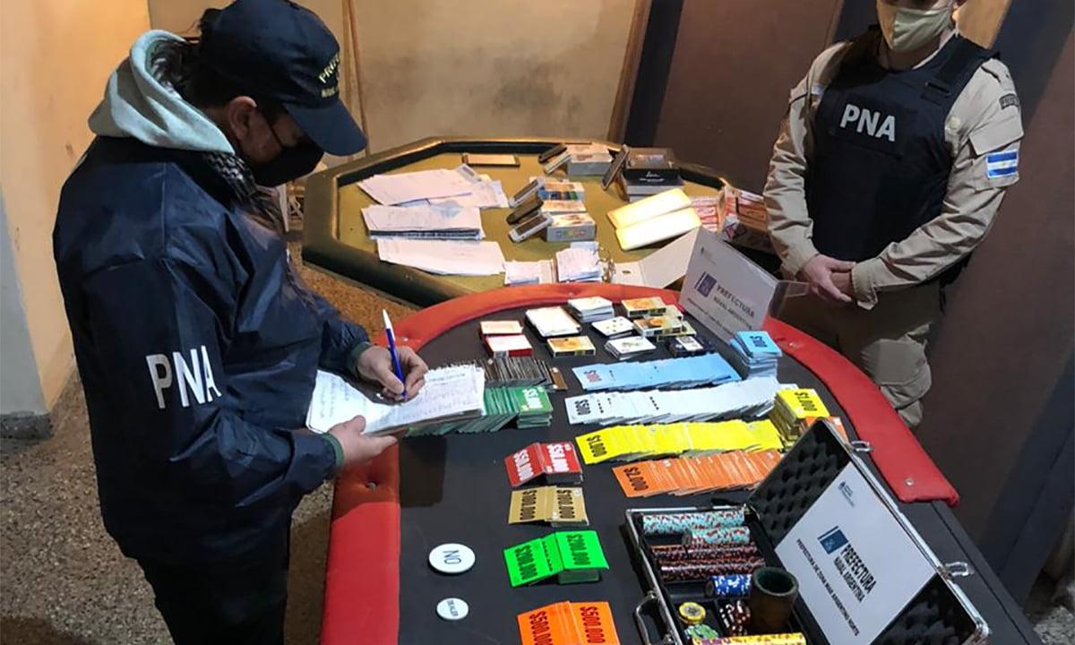 Encontraron un casino clandestino en Bahía Blanca