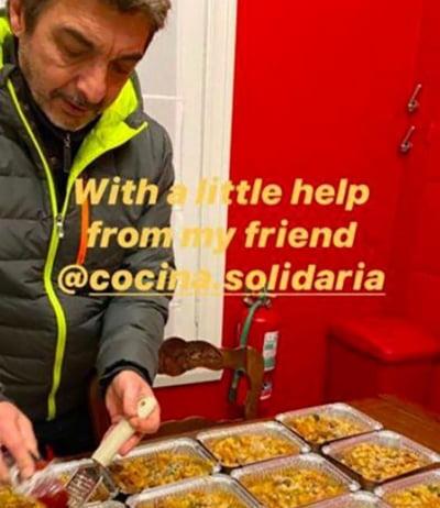 Cocina Solidaria: El proyecto al que se sumó Ricardo Darín y familia
