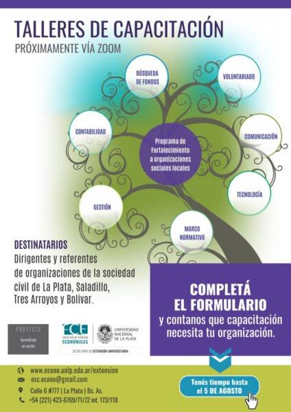 """""""Aprendizaje en acción"""": encuesta virtual para dirigentes de organizaciones de la sociedad civil"""