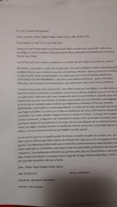 Denuncia públicamente a un médico en Claromecó por la atención que brindó a su esposa