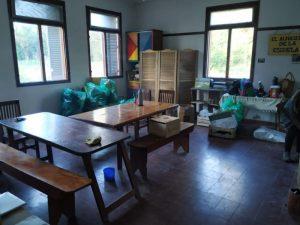Jornada de limpieza en la Escuela Agrícola de Claromecó