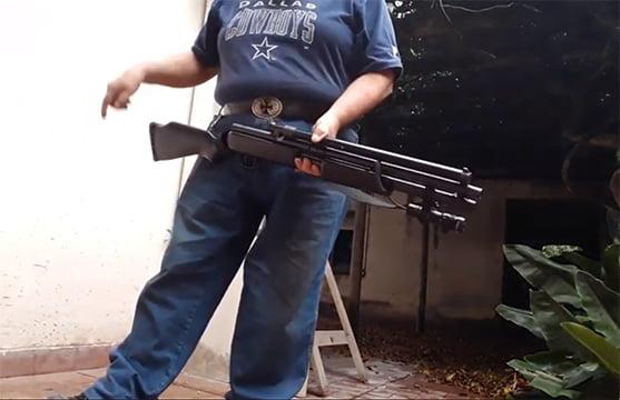 Escopetas disuasivas: no es arma de fuego, pero defiende. La venta es libre. En Tres Arroyos hay
