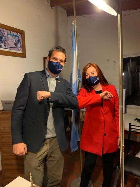 Eugenia Muller asumió la presidencia del Rotary Club Tres Arroyos