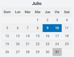 Día de la Independencia: ¿hay fin de semana largo el 9 y 10 de julio?