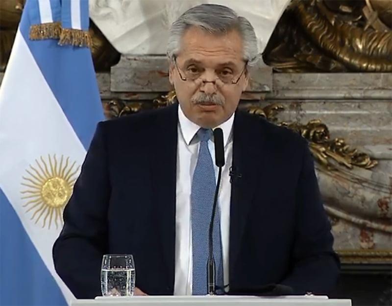 """Alberto Fernández presentó su proyecto para """"organizar mejor la justicia federal"""""""