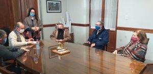 El Intendente se reunió con Kolina de Orense, Centro de Jubilados y vecinos de Boca