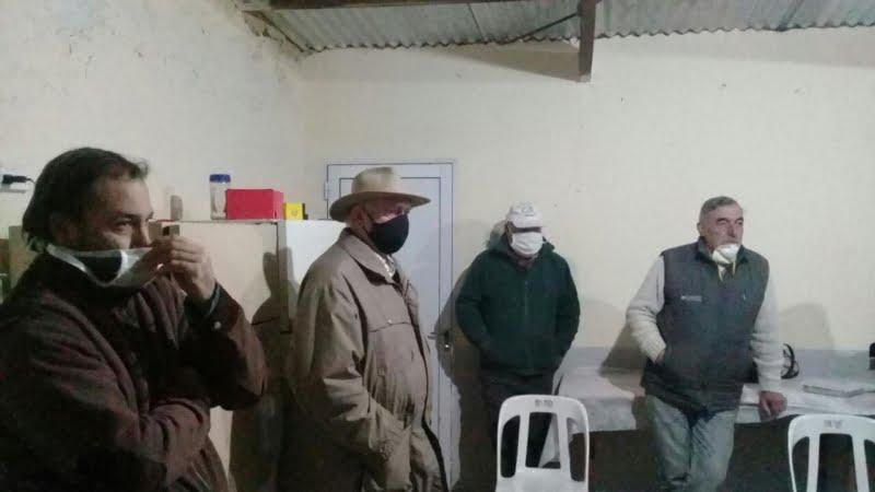 Lin Calel: Sánchez supervisó futuros arreglos en el  destacamento policial