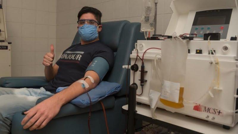 """Super donante de plasma: """"Tengan paciencia y muchos cuidados"""""""
