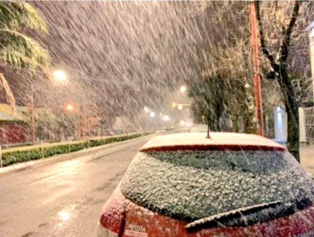 Pronostican nieve para la semana que viene en Tres Arroyos