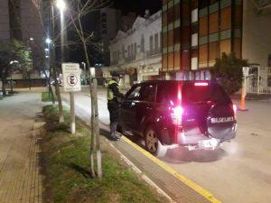 Operativo policial: de Villa Italia al Parque Cabañas y con rondines en el centro