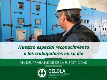La Cooperativa de Claromecó saluda a los trabajadores de la electricidad