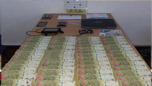 Allanamiento positivo en Tres Arroyos por robo en La Madrid. Secuestraron dinero