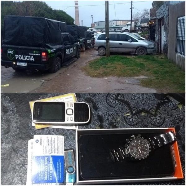 Allanamientos en Bahía y White por el millonario robo a reconocido empresario de Chaves
