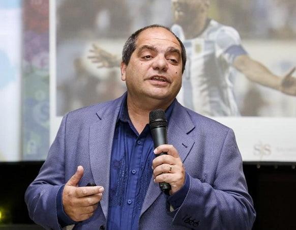 Salvador Di Stefano, este lunes en el ciclo de charlas de DAN