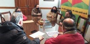 Avanzan en gestiones para concretar obra de cloacas sobre calle Zapiola