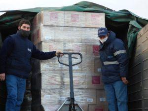55.000 paquetes de galletitas Tostex para el Banco de Alimentos de Balcarce