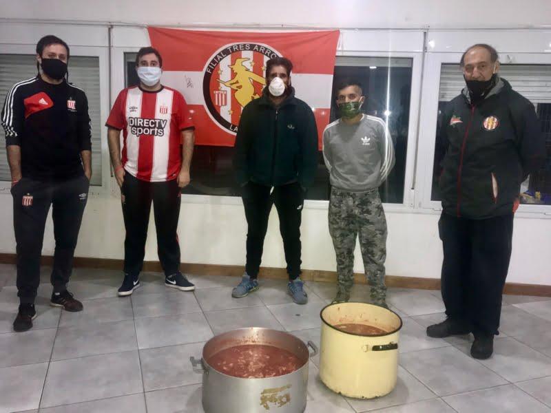 """La filial """"La Bruja"""" adhirió a los festejos del aniversario pincharrata"""