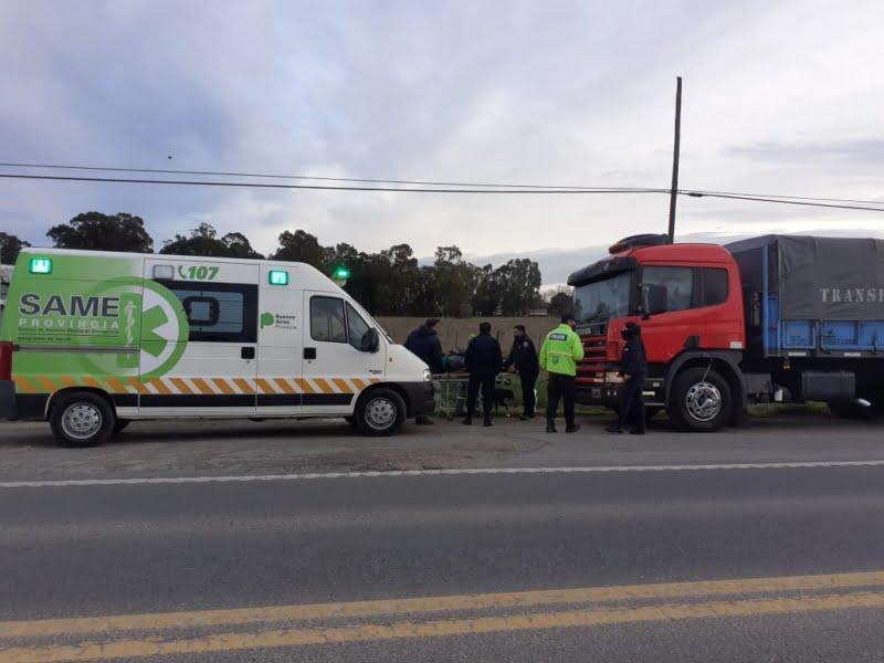 Se recupera el camionero salvado por policías