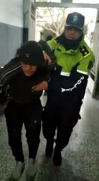 Bahía: recapturan a otro de los presos que se fugó de la comisaría Sexta (video)