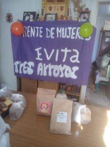 El Movimiento Evita agasajó a los mas chicos en los barrios Ciclista Y Villa Italia