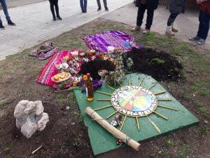 La Pachamama fue honrada en la plaza San Martín