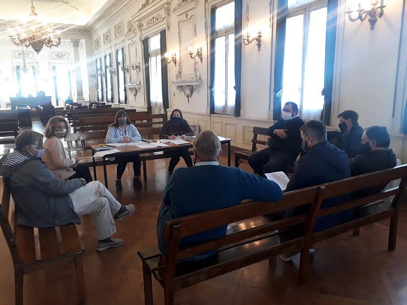 Obras Públicas del Concejo avanzó en aspectos técnicos de distintos proyectos