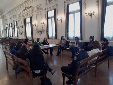 Se reunió la Mesa Intersectorial de Mujeres en el Salón Blanco
