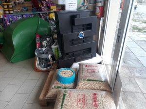 """Promocionan en """"Cuatro Patas"""" estufas bajo consumo a combustión de pellet"""