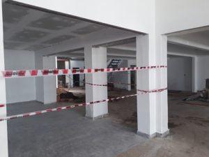 Avanza la remodelación del local donde funcionará el supermercado Toledo
