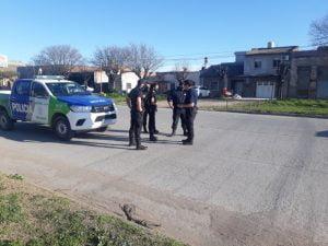 Choque en Av. Güemes y Pedro N. Carrera: un motociclista herido