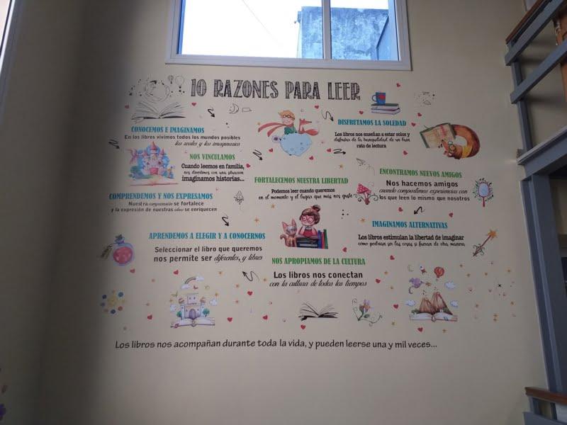 """Biblioteca Cacuri: """"Razones para leer"""""""