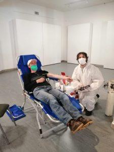 San Cayetano: se concretó la colecta externa de sangre