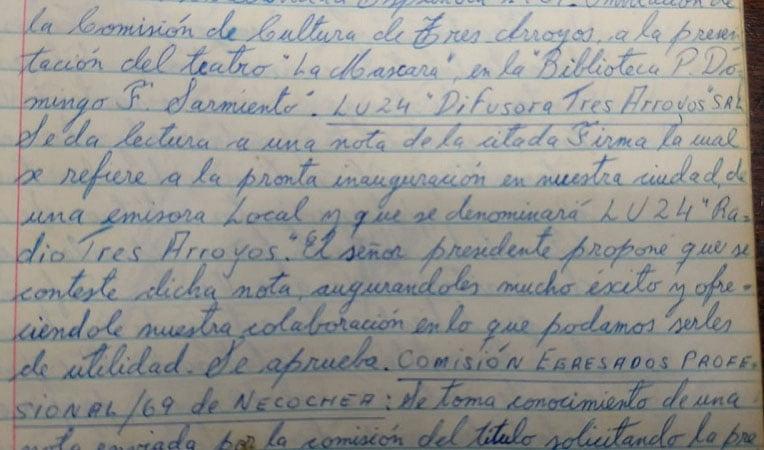 El Club Español y LU 24: pequeñas anécdotas de un recorrido en común en los 100 años de la radiofonía