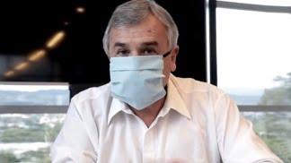 El gobernador Morales anunció que tiene Covid-19