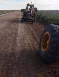 Chaves: informe de reparación de caminos rurales