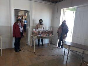 El CAS Fortín Machado entregó golosinas para los alumnos de la ex Virgen de la Carreta