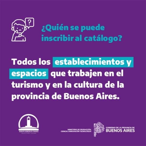 Chaves: convocan a inscribirse en el Catálogo Turístico y Cultural