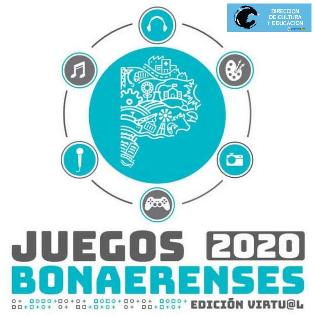Juegos Bonaerenses 2020 virtuales: abren la inscripción a disciplinas culturales