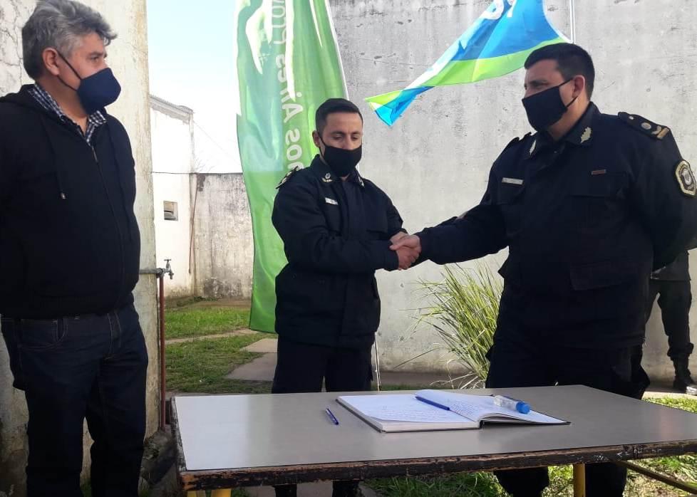 Daniel Dupuy es el nuevo Jefe de la Policía Comunal de Gonzales Chaves