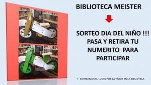 Sorteo del Día del Niño de la Biblioteca Meister