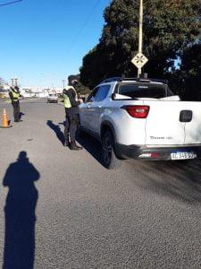 Secuestraron vehículos en operativo de control