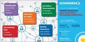 Capacitación virtual gratuita para emprendedores y comerciantes