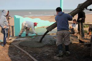 Claromecó: concluyeron la Senda Peatonal Marítima y hay varios proyectos por el Centenario