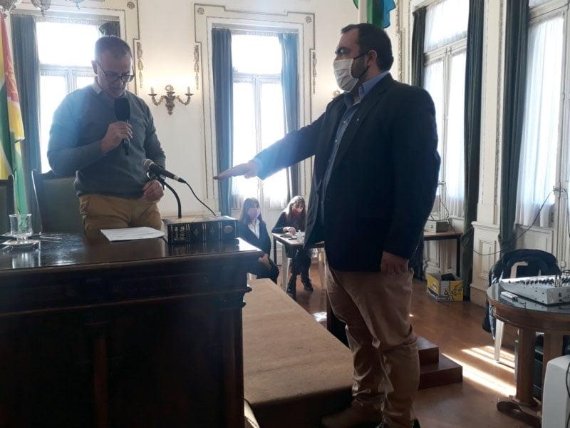 """Pancho"" Santarén juró como concejal"