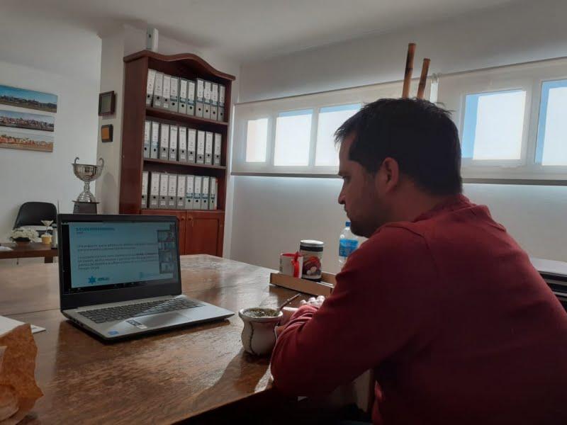 Juegos Bonaerenses virtuales: Orsili dialogó con referentes provinciales