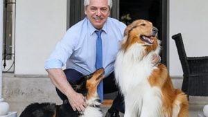 La mamá de Facundo contó que el presidente le regaló un perro sobrino de Dylan