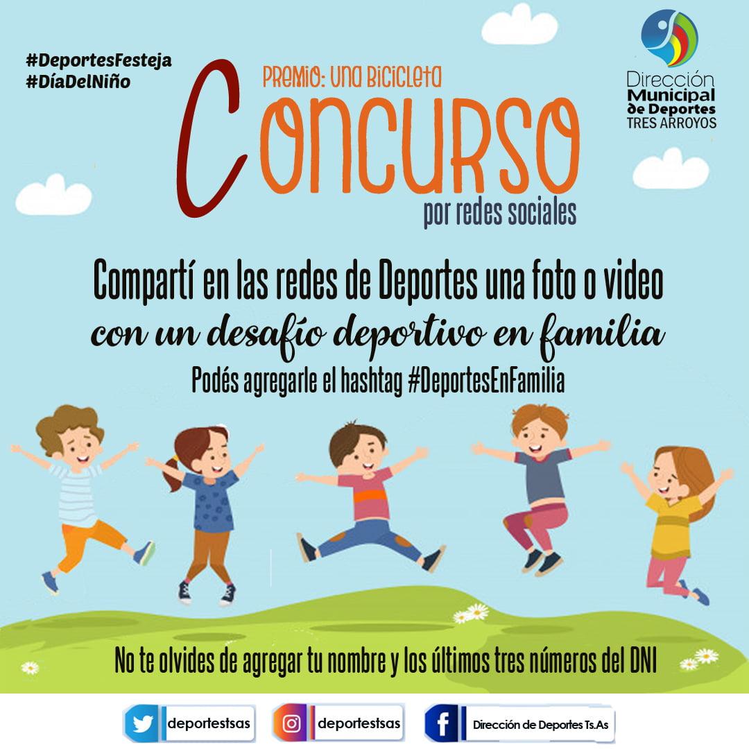 Concurso por el Día del Niño de la Dirección de Deportes