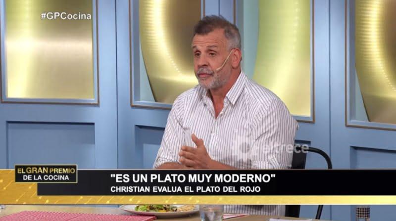 """Christian Petersen y el plato """"homenaje a la cebada de Tres Arroyos"""" (video)"""