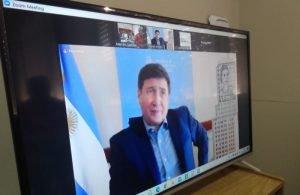 Santillán se entrevistó con el ministro Arroyo y firmó convenios para Gonzales Chaves