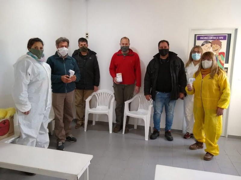 Unidad Sanitaria de Bellocq, recibió donación de la Cooperativa Eléctrica